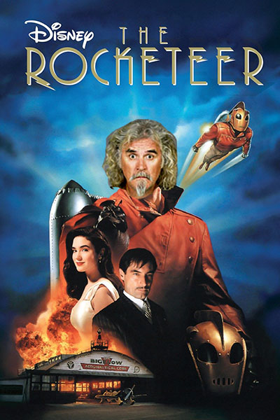 Billy Connolly as The Rocketeer?