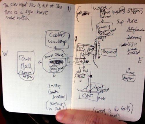 Jason's map