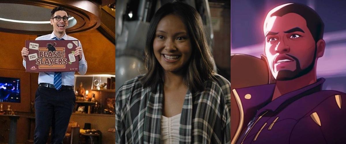 What If...?, Season 1, Episode 2, Stargirl, Season 2, Episode 2, Legends of Tomorrow, Season 6, Episode 12