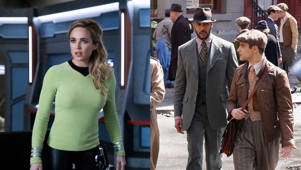 Legends of Tomorrow, Season 5, Episode 13 / Agents of SHIELD, Season 7, Episode 1