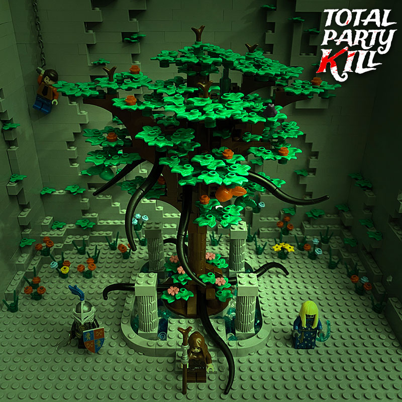 Lego Tree Battle